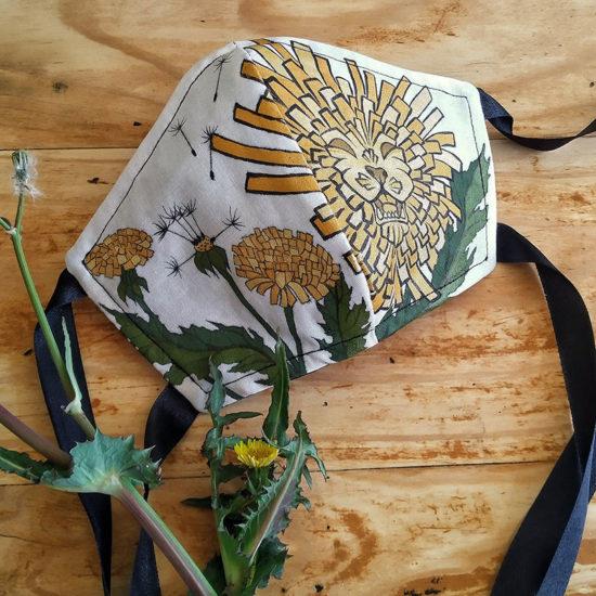 Dandelion Art Mask