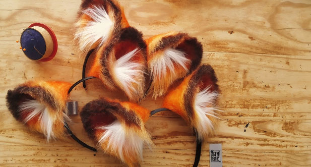 Handmade Fox Ears